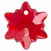 Swarovski Pendant 6748 Edelweiss 14mm Light Siam